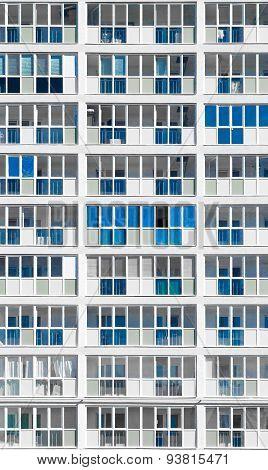 Modern Desaturated Housing Block In Russia