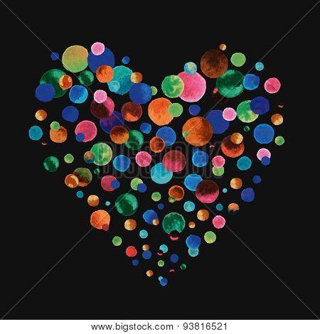 Confetti Heart