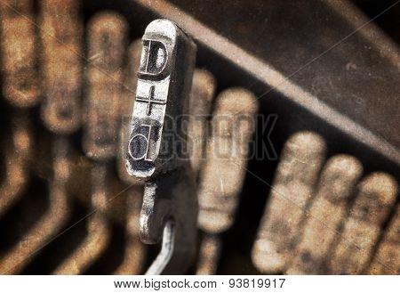 D Hammer - Old Manual Typewriter - Warm Filter