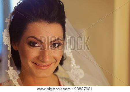 Portrait Of A Bride Before The Wedding