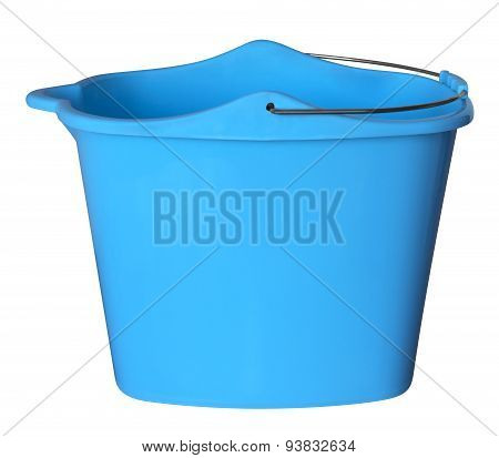 Plastic Bucket - Blue