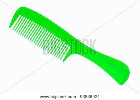 Green Hair Comb