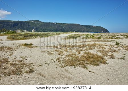 Agios Ioannis Beach near the town of Lefkada