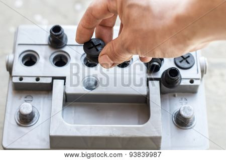 The Process Of Checking Car Battery