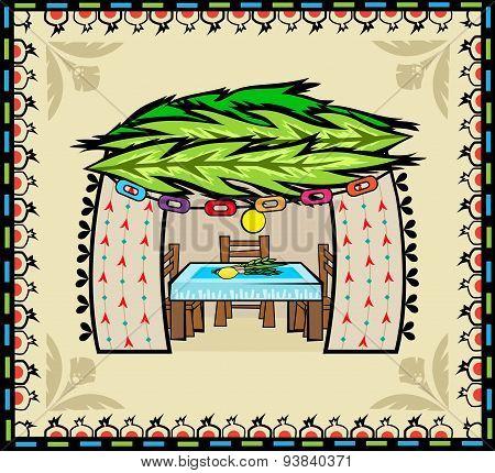 Folk Art Sukkah