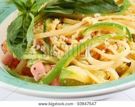 Tagliatelle With Zucchini