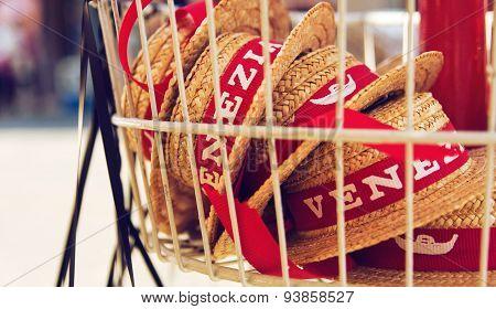 Souvenir Hats From Venice