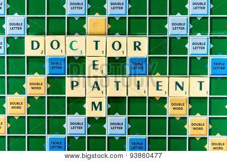 Doctor Team Patient