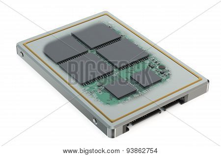 Solid State Drive Ssd Circuit Board