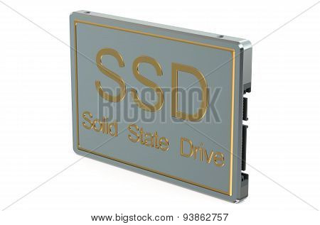 Solid State Drive Ssd Closeup