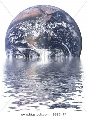 Sinking Earth