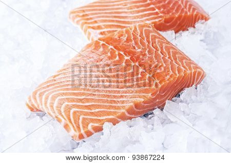 Salmon Fillet in Ice