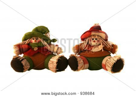 Straw Doll Duo