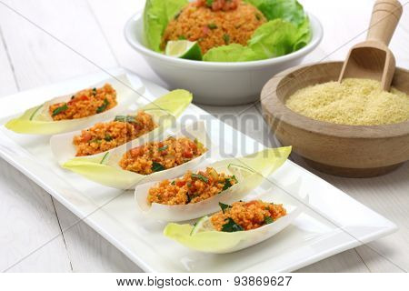 kisir, bulgur wheat salad, turkish cuisine, vegetarian food