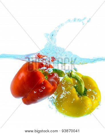 Pepper In Water