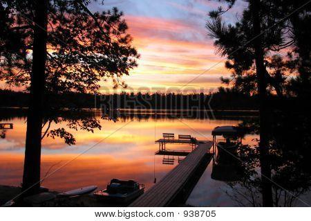 Sunset On Lake 2