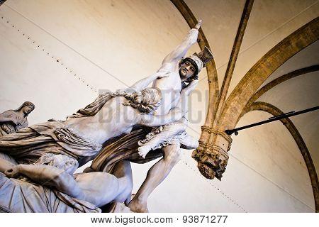 Statue At Loggia Della Signoria