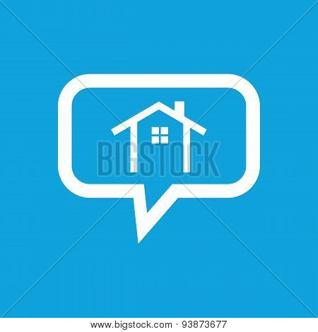 Cottage message icon