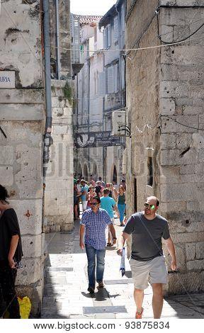Diocletianus Palace. Split, Croatia