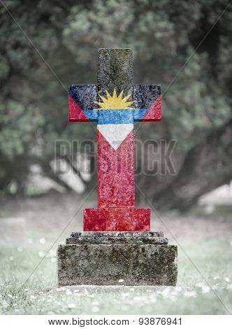 Gravestone In The Cemetery - Antigua And Barbuda