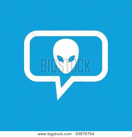 Alien message icon