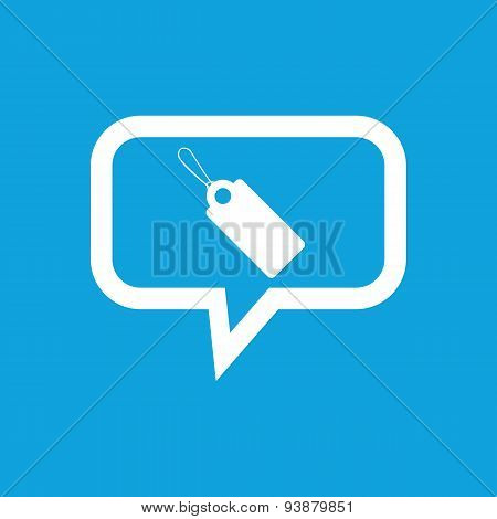 String tag message icon