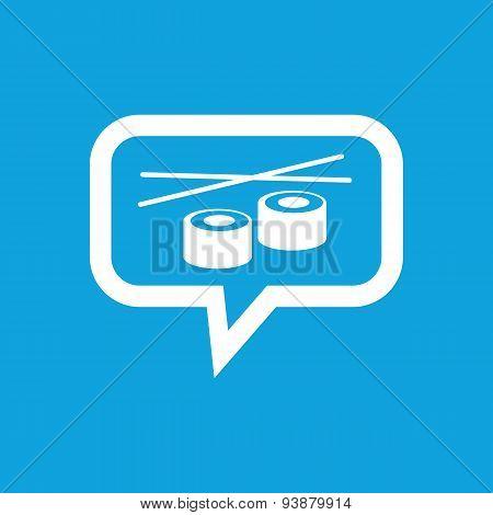 Sushi message icon