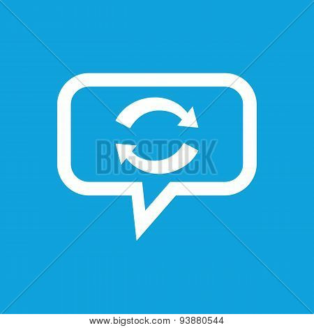 Exchange message icon