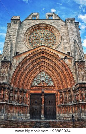 Cathedral Of The City Tarragona, Spain