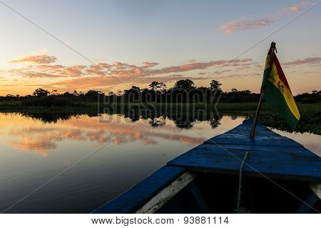 Crossing The Bolivian Amazon