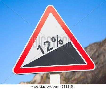 Road Grade 12 Per Cent