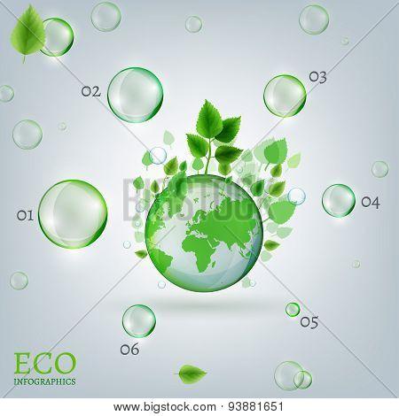 Infographics Bio Bubble