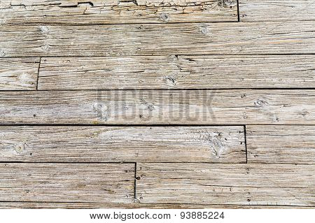 Old Weathered Beach Planks