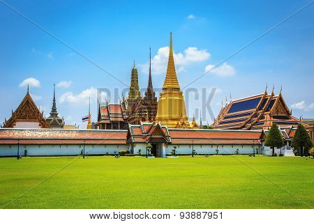 Wat Phra Kaew, Temple Of The Emerald Buddha, Bangkok