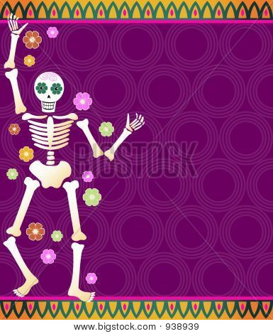 Fiesta Skeleton