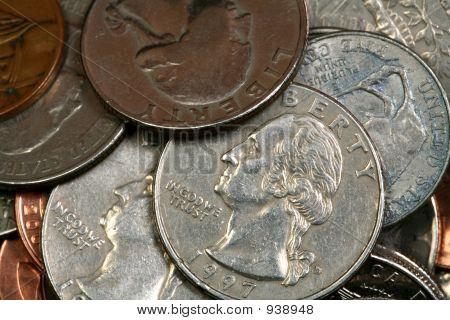 Multiple Coins Quarters