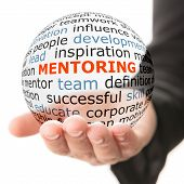 pic of mentoring  - Concept of mentoring - JPG