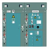 picture of transformer  - Picture of the electrical panel - JPG
