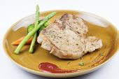 picture of t-bone steak  - delicious T - JPG