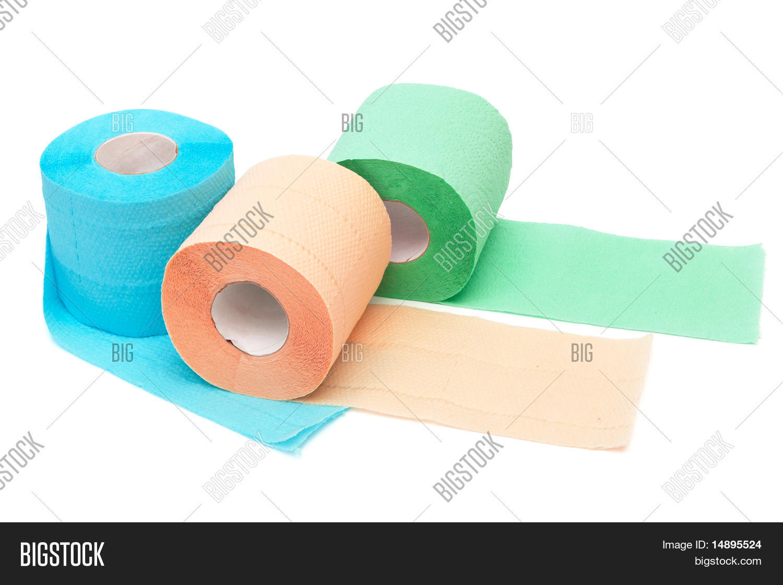 Сине желтая туалетная бумага