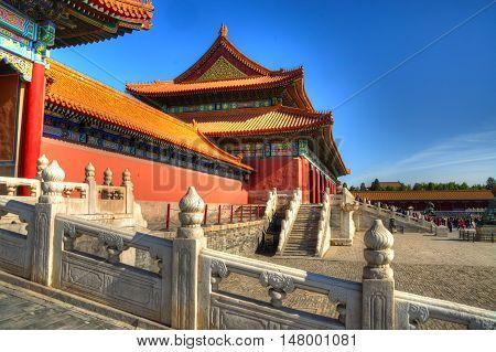 forbidden city in Beijing, Shots of China - november