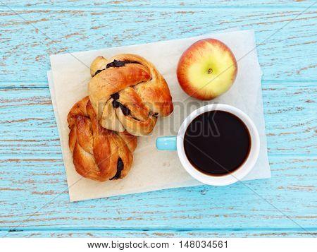 Breakfast On Baking Paper