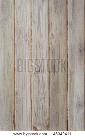 Teak wood board texture use for background.