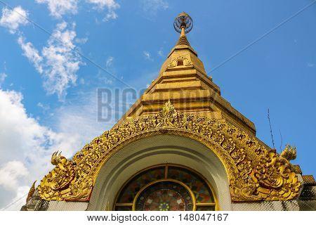 Wat Tam Pha Plong (Pha Plong cave temple) Chaingmai Thailand