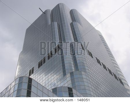 Grey Office Building