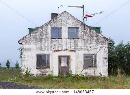 Old Abandoned House - Iceland