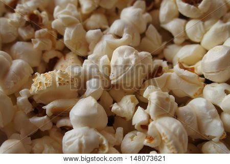 popcorn background eat food snack fast texture