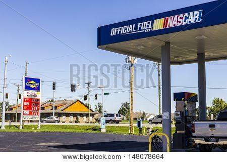 Ft. Wayne - Circa September 2016: Sunoco Retail Gasoline Location. Sunoco is a Subsidiary of Energy Transfer Partners III