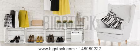 Shoe Storage Solution