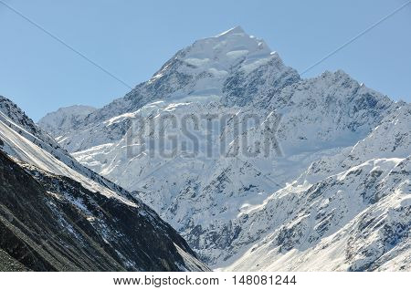 Mount Cook In Aoraki/mount Cook National Park, New Zealand